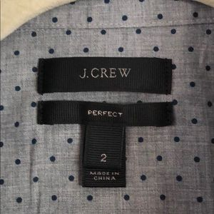 J Crew perfect button down shirt 2